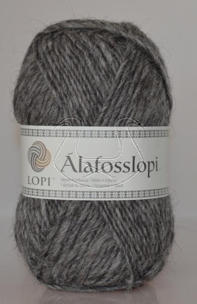 Alafoss Lopi - Nr. 0057 - mittelgrau