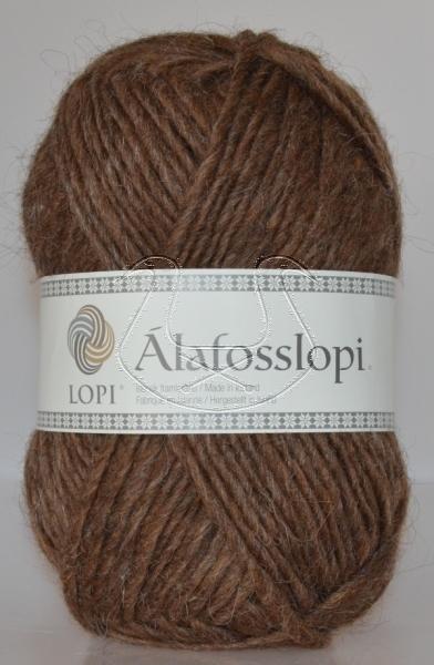 Alafoss Lopi - Nr. 0053 - mittelbraun