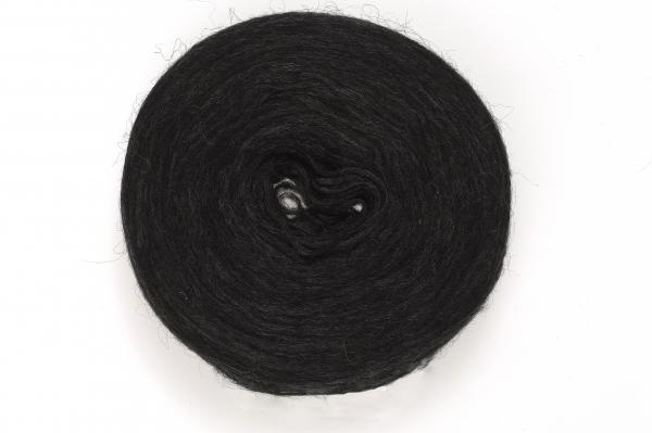 Plattenwolle - Nr. 0005 - naturschwarz