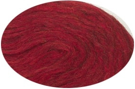 Plattenwolle - Nr. 1430 - granatrot