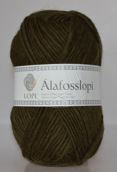 Alafoss Lopi - Nr. 9987 - dunkeloliv