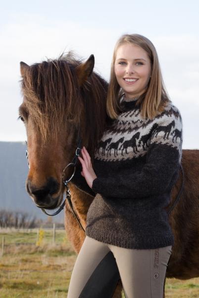 Islandpullover Lettlopi Nr. 2202 Pferdemotiv