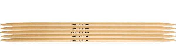 Strumpfstricknadeln Bambus 4,5