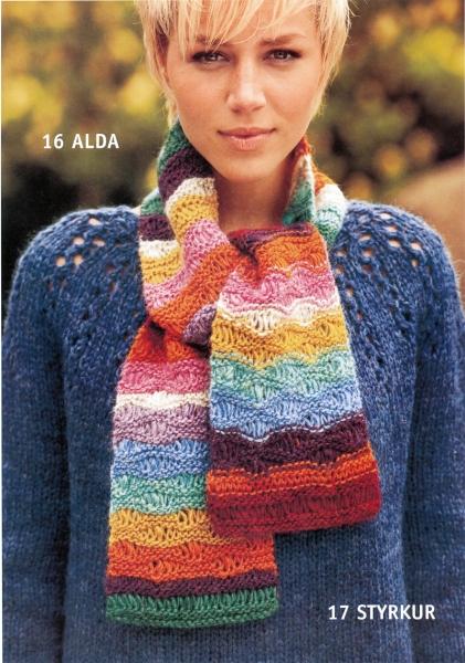 Strickpaket Plattenwolle Nr. 17b / 29 Pullover