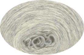 Plattenwolle - Nr. 1026 - silbergrau