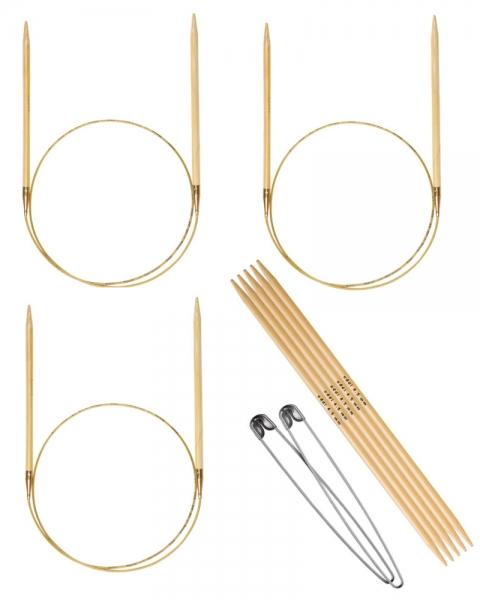Stricknadelset Erw. Bambus Lett-Lopi 4,5