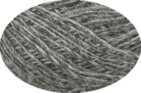Einband Lacegarn - Nr. 9102 - grau