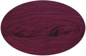 Plattenwolle - Nr. 9210 - weinrot
