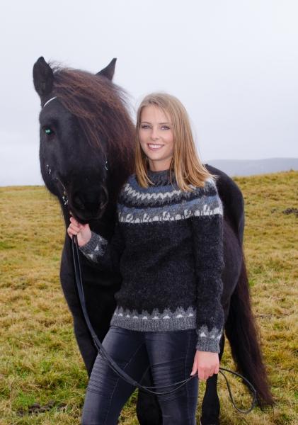 Islandpullover Lettlopi Nr. 2211 Pferdemotiv