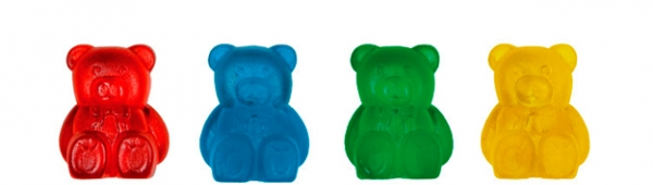 Maschenbären (8 Stück)