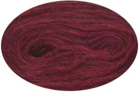 Plattenwolle - Nr. 1427 - karminrot