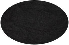 Plattenwolle - Nr. 0059 - schwarz