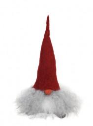 Tomte Valter mit roter Mütze