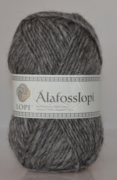 Alafoss Lopi - Nr. 0057 - grey heather