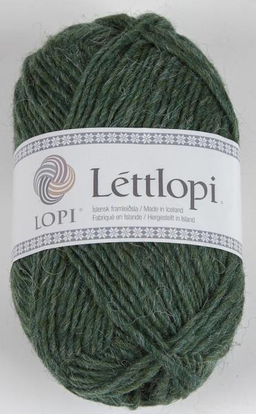 Lettlopi - Nr. 1706 - waldgrün