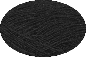 Einband Lacegarn - Nr. 0059 - schwarz