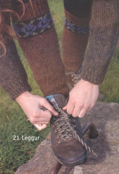 Strickpaket Lettlopi Nr. 21a / 27 Stulpen