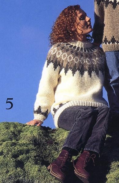 Islandpullover Alafoss Lopi Nr. 5 / 18