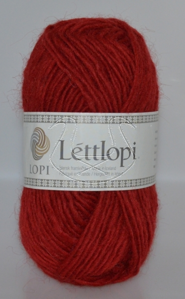 Lettlopi - Nr. 9434 - crimson red