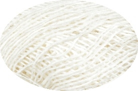 Einband / Lace Yarn Nr. 0851 - white