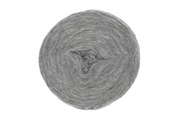 Plattenwolle - Nr. 1027 - mittelgrau
