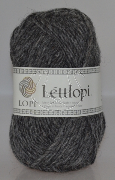 Lettlopi - Nr. 0058 - dark grey heather