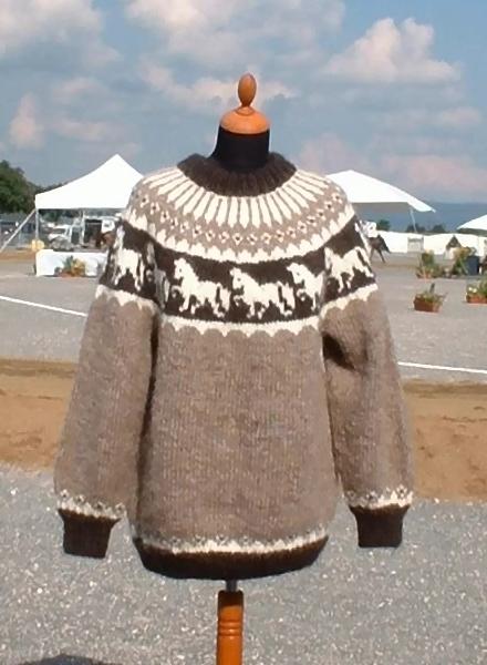 Strickpaket Alafoss Lopi Pferdemotiv Nr. 5501