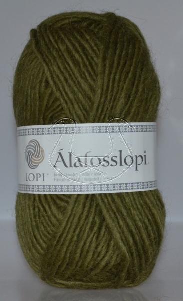 Alafoss Lopi - Nr. 9985 - oliv exklusiv beim Islandwolle Versand