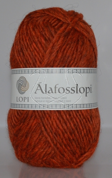 Alafoss Lopi - Nr. 1236 - kupferorange