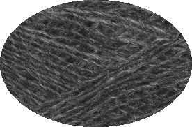 Einband / Lace Yarn Nr. 9103 - dark grey heather