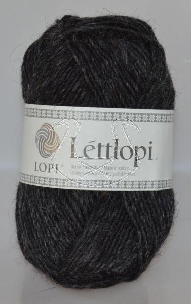 Lettlopi - Nr. 0005 - black heather