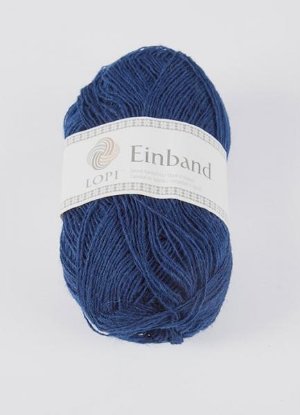 Einband Lacegarn - Nr. 0942 - blau