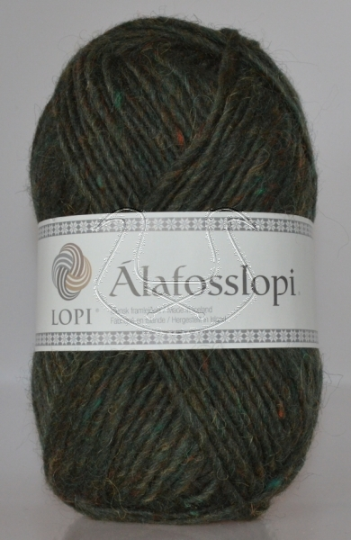 Alafoss Lopi - Nr. 9966 - zypressengrün meliert