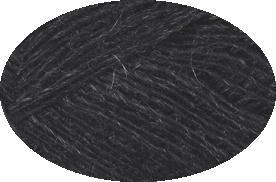 Einband Lacegarn - Nr. 0151 - naturschwarz