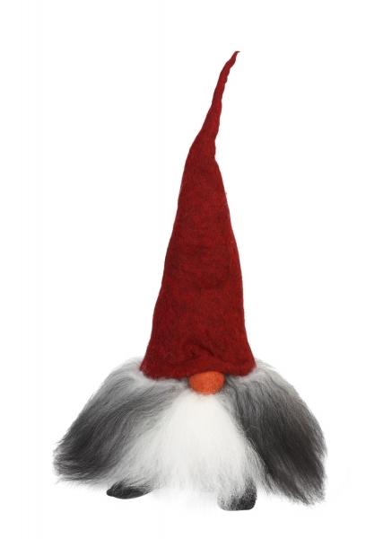 Tomte Verner mit roter Mütze
