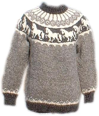 Strickpaket Alafoss Lopi Pferdemotiv Nr. 5502
