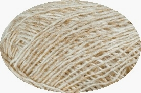 Einband / Lace Yarn Nr. 1038 - light beige heather