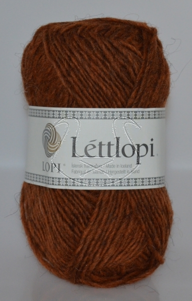 Lettlopi - Nr. 9427 - rust heather