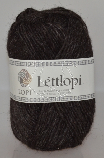 Lettlopi - Nr. 0052 - black sheep heather